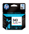 HP Cartucho de tinta original 343 Tri-color