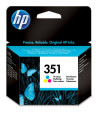 foto de HP Cartucho de tinta original 351 Tri-color