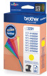 Brother LC-223YBP cartucho de tinta Amarillo