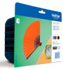 foto de TONER BROTHER LC129XLVALBP PACK4  MFCJ6720DW 6920 6520 2400PAGNEGRO 1200PAG COLO