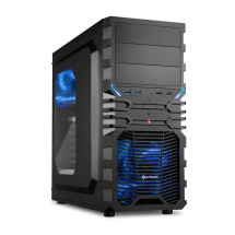 foto de Sharkoon VG4-W Midi-Tower Negro, Azul