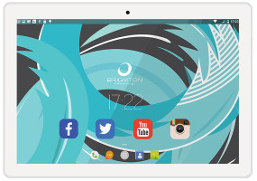 foto de Brigmton BTPC-1024QC-B 16GB Blanco tablet