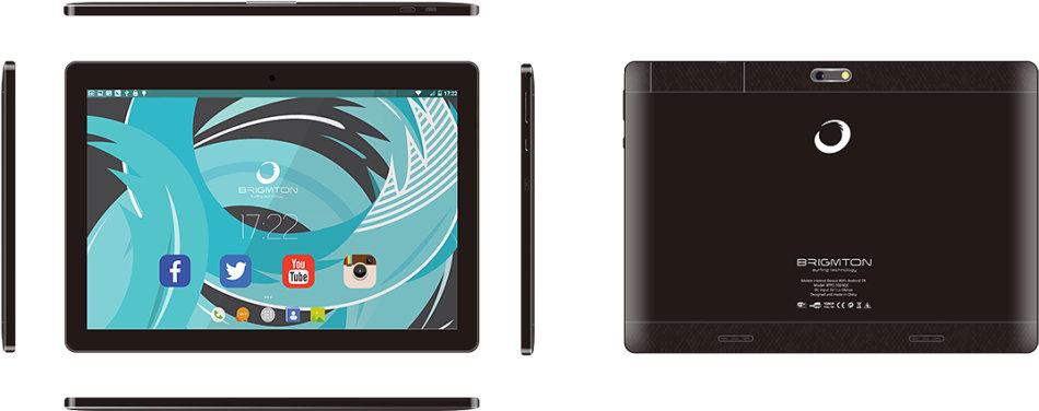 Brigmton BTPC-1024QC-N tablet Allwinner A64 16 GB Negro | MR Micro