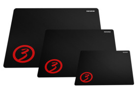 foto de ALFOMBRILLA GAMING OZONE GROUND LEVEL NEGRO M 320X270X2MM