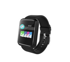 foto de Brigmton BSPORT-17 Wristband activity tracker Negro IP67 TFT 3,3 cm (1.3) Inalámbrico