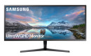foto de Samsung LS34J550WQU LED display 86,6 cm (34.1) 3440 x 1440 Pixeles UltraWide Quad HD Negro
